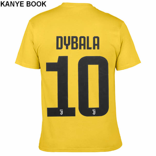 promo code c07b7 b715f US $20.62 |Summer 2018 New Tee Shirt Homme Printed DYBALA T Shirt Men Short  Sleeve 100% Cotton O neck T shirts Men 10 Juventus Jerseys-in T-Shirts ...