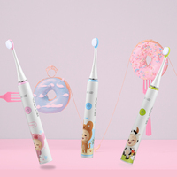 Seago Sonic Electric Toothbrush for Children kid 3 12 years Cartoon Four speed Washable Teeth Tooth brush Electric USB charge
