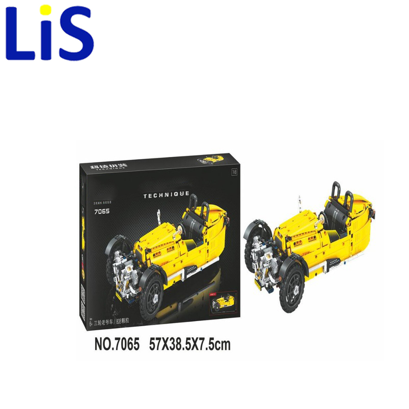(Lis) 7065 Technic classic cars building bricks blocks toys for children Boy Game