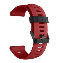 Vente chaude Bracelet Bracelet En Silicone Souple Bande De Montre De Remplacement avec Des Outils Pour Garmin Fenix 5X GPS Montre Drop Shipping 3 # #2