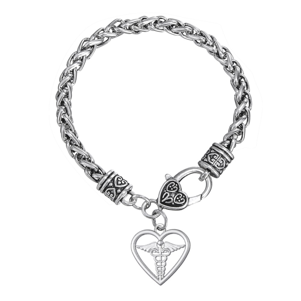 Dawapara Heart Medical Alert Bracelets For Women Fashion Turkish Jewelry 2017 In Chain Link From Accessories On Aliexpress