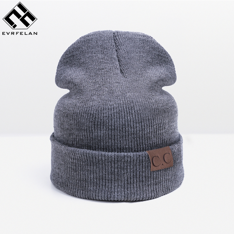 Evrfelan Knitted Skullies Beanies Women s