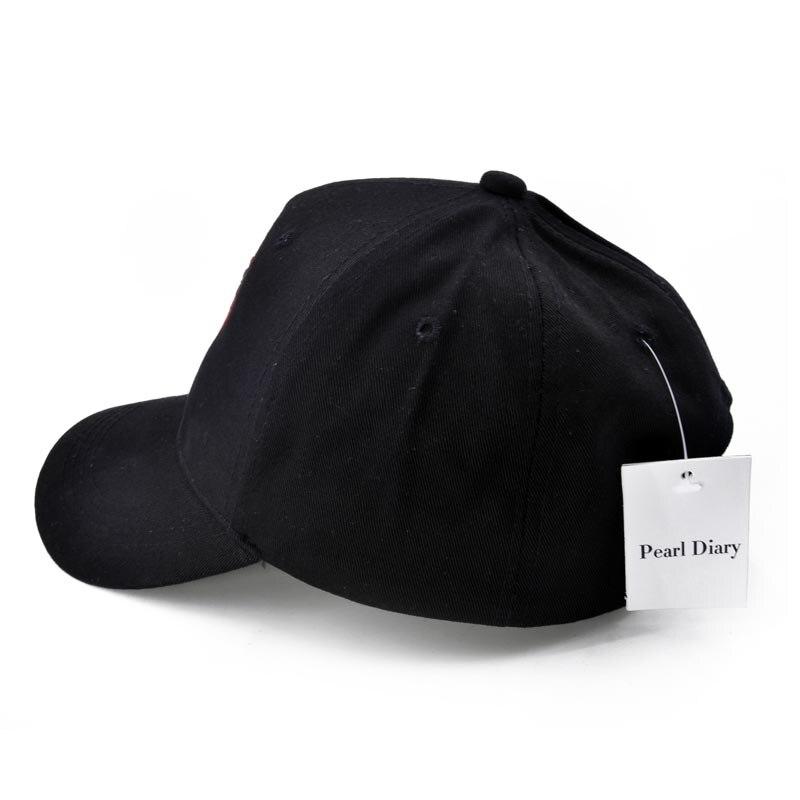 bc3c768849 Punk Black Top ARCTIC MONKEYS Funny Embroidery baseball caps Pure cotton  caps Adjustable snapback hats for men.