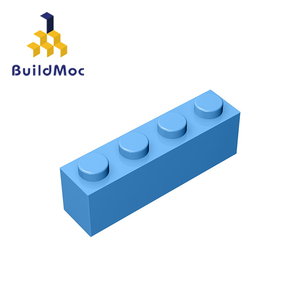 Image 5 - Buildmoc互換アセンブル粒子レンガ3010 1 × 4ビルディングブロックの部品diyロゴ教育創造ギフトのおもちゃ