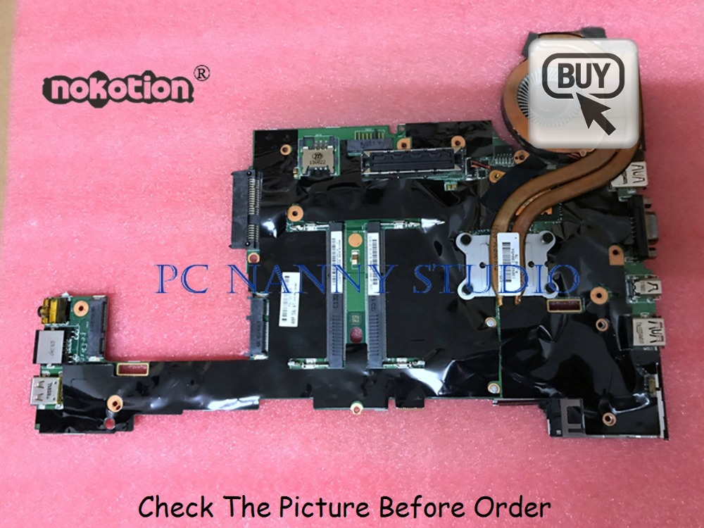 PCNANNY 04X4541 For Lenovo ThinkPad X230 X230i laptop motherboard SR0MY <font><b>I5</b></font>-<font><b>3320M</b></font> FRU ddr3 tested image