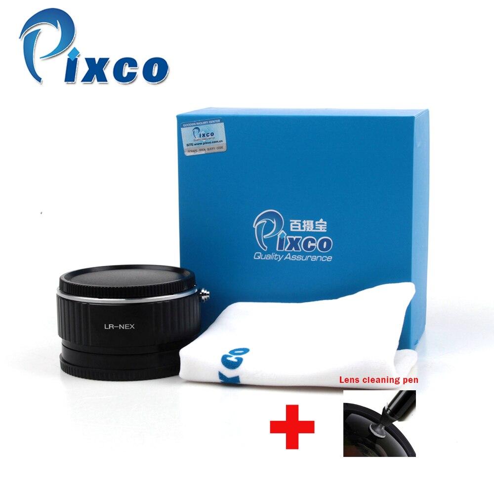 Pixco L/R-NEX réducteur de focale Booster de vitesse adaptateur de montage d'objectif pour lentille Leica R à Sony E NEX A6000 A5000 A3000 5 T 3N