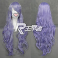 Macross F Macross Frontier Sheryl Nome Cosplay Wig Light Purple 90cm Wave Long Cosplay Costume Wig Synthetic Hair Free Shipping