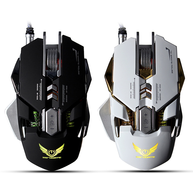 7 Button Mechanical Mouse Micros Setting Programming Mouse Computer Gaming Mouse Gamer 3200DPI Wired Optical Mouse LED for PC professional wired&wireless gaming gamer mouse 7 button 3200dpi led optical pro gamer computer mice mouse for gamer high quality