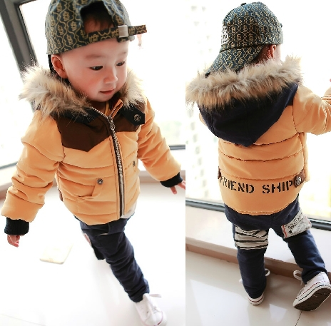 ed45166d4b58 Toddler Baby Boys Winter Jacket Coat Size 7M 3T -in Down   Parkas ...