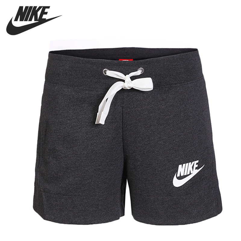 Nike Original New Arrival AS W NSW GYM CLC SHORT Women's Running Shorts Breathable Sportswear 884363-032 nike w nsw gym vtng drss ss