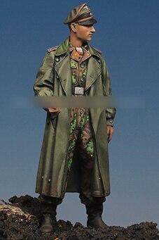 [Tuskmodel] 1 35 escala kit modelo de resina figuras WW2 soldados Alemães oficial