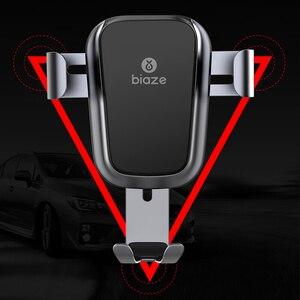 Image 4 - Biaze Car Air Vent Mount Qi Caricatore Senza Fili Per iPhone XS Max X XR 8 Veloce di Ricarica Supporto Del Telefono Dellautomobile per la Nota di Samsung 9 S9 S8