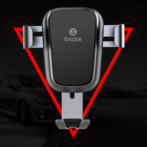 Image 4 - Biaze Car Air Vent Mount Qi Wireless Charger For iPhone XS Max X XR 8 Fast Charging Car Phone Holder For Samsung Note 9 S9 S8