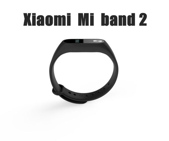 Original Mi band 2 Waterproof Pedometer Heart Rate Monitor Smart Mi Band 2 Wristband for iOS iPhone6 Plus iPhone7 Note7 Android