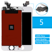 100% Tested AAA+ Quality LCD Screen Replacement for iPhone 5 5G Touch Screen Display Digitizer Assembly With Frame No Dead Pixel 100% tested working lcd for iphone x lcd display touch screen replacement parts no dead pixel