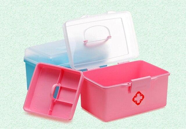 Kast Met Slot : Layer pil geval huishouden geneeskunde kast ehbo case met slot