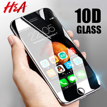 H&A 10D Curved Edge Protective Glass on the For iPhone 5 5s se 5c Tempered Screen Protector For iPhone 5s 5c se Glass Film(China)