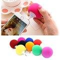 Colorful 3.5mm porta mini alto-falantes do telefone móvel estéreo usando balão pequenos alto-falantes portáteis ao ar livre frete grátis