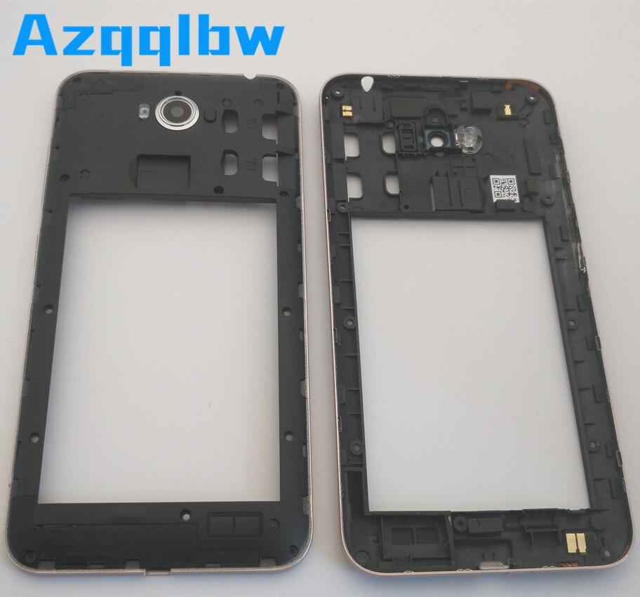 Azqqlbw cadre moyen boîtier plaque arrière pour ASUS Zenfone Max ZC550KL cadre moyen à la fois avec objectif de caméra/pas d'objectif de caméra