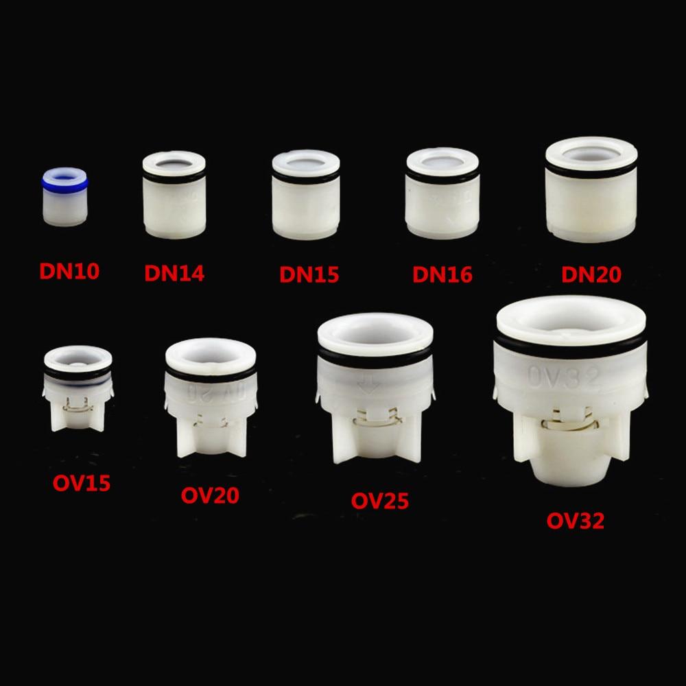 1Pcs Plug-in Plastic Non-Return Valve Spring Check For 10-32mm Aquarium Garden Irrigation Water Meter Valve Anti Drip