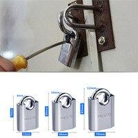 Stainless steel Travel Suitcase Luggage Diary Metal Lock Padlock Set With 3 Key
