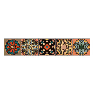 Image 3 - Wall stickers home decor living room Vintage mandala style Affixed Decorative Self adhesive Wallpaper Home Decoration 2019