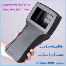 1 piece free shipping Handheld plastic enclosures instrument case housing distribution box project box 118X220X101MM
