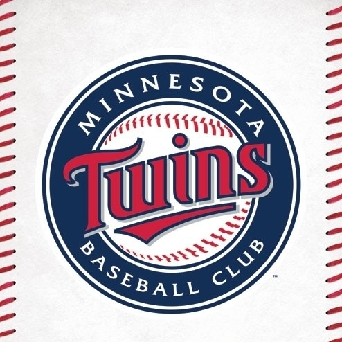 Minnesota Twins__ – Logo Laminated Poster Print (22 x 34)