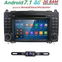2 DIN Авто Радио автомобильный DVD GPS Штатная для Mercedes Benz B200 a b класс W169 W245 Viano Vito w639 Sprinter W906 bluetooth fm am