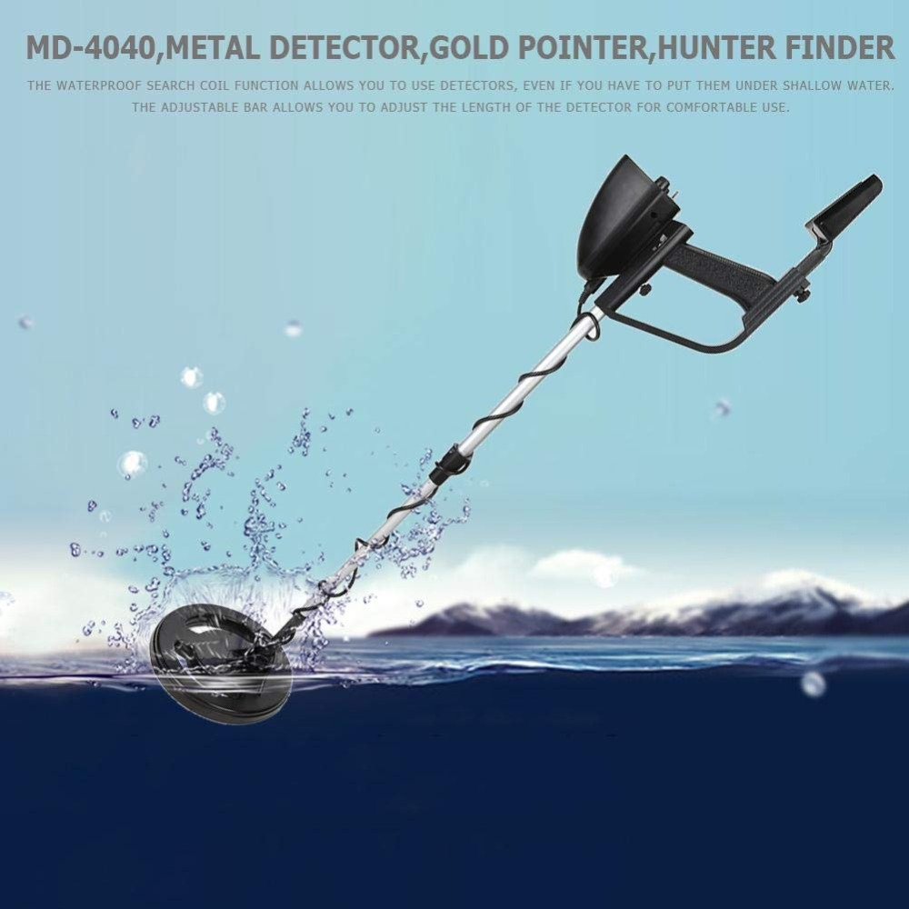 High Sensitive MD-4040 Waterproof Underground Metal Detector Search Gold Detectors Hunter Detector Metal Detector factory price md 4010 underground metal detector ground search metal detector gold silver copper detector description md 4010