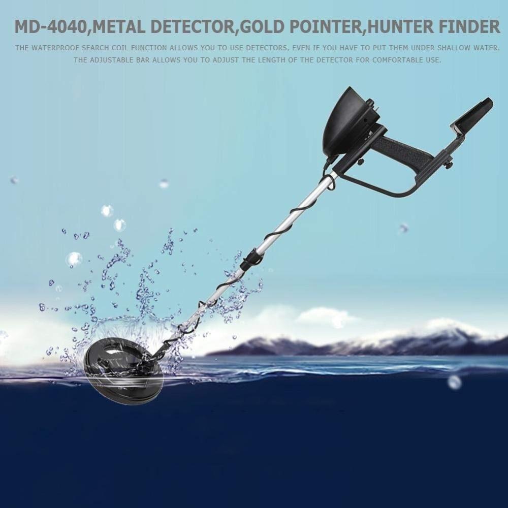High Sensitive MD-4040 Waterproof Underground Metal Detector Search Gold Detectors Hunter Detector Metal Detector цены