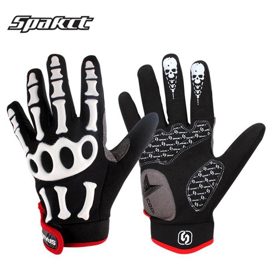 Spakct Bike Cycling Gloves Full Finger Men Downhill Road Mtb