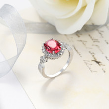 1pc HIP Hop Fashion Crystal Zircon Ring 6 colors available  For Women Jewelry Dropshiping Couple gift