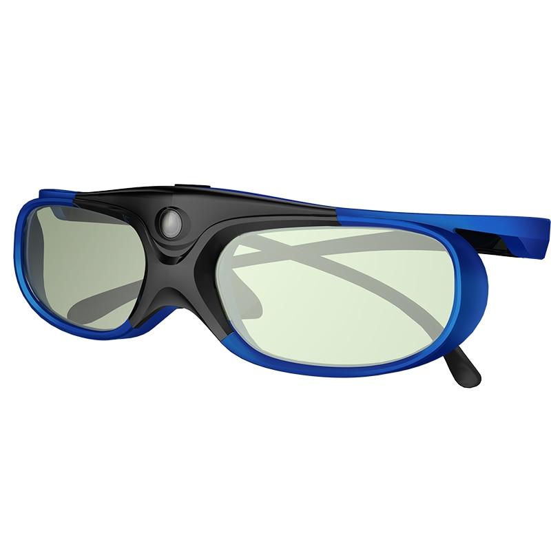 Professional Universal DLP LINK Shutter Active 3D Glasses For Optoma for BenQ For Acer Xgimi Jmgo 3D Ready DLP Projector холодный тв coolux dlp link активным затвором 3d очки прохладно тв проектор генеральный