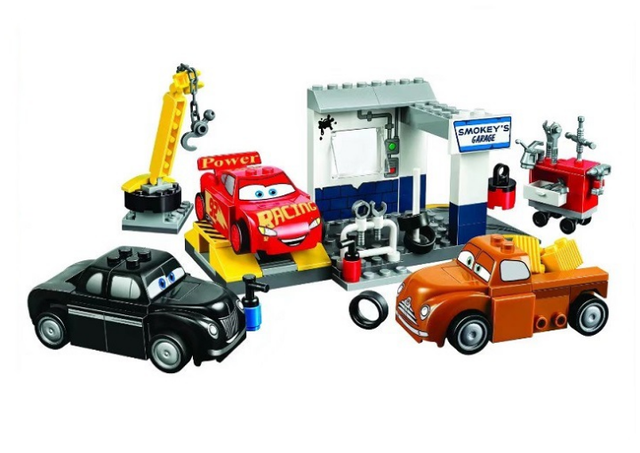 Building Blocks Sets China Hand Smokeys Garage 10743 Building Kit