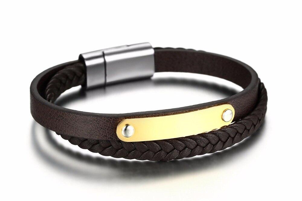 Купить европа и сша мода мужской пу кожаные браслеты для для мужчин
