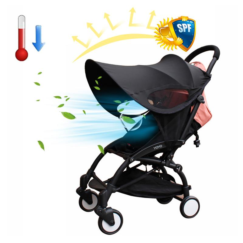 Baby Car Seat Cover Toddler Nursing Cradle Canopy Buggy Sun Shade Excellent
