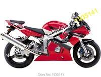 Ventas calientes, Yamaha YZF R6 1998 1999 2000 2001 2002 YZFR6 YZF-R6 98-02 Aftermarket ABS carenado de la motocicleta ( moldeo por inyección )
