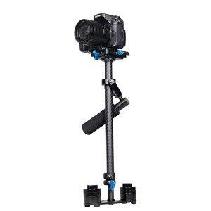 Image 5 - YELANGU S60T Professional Portable Carbon Fiber Mini Handheld Camera Stabilizer DSLR Camcorder Video Steadicam Better than S60