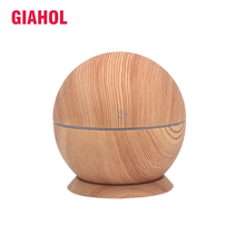 130ml USB Aroma Essential Oil Diffuser Ultrasonic Cool Mist Humidifier Air Purifier Light wood Color Change Night light Office цена и фото