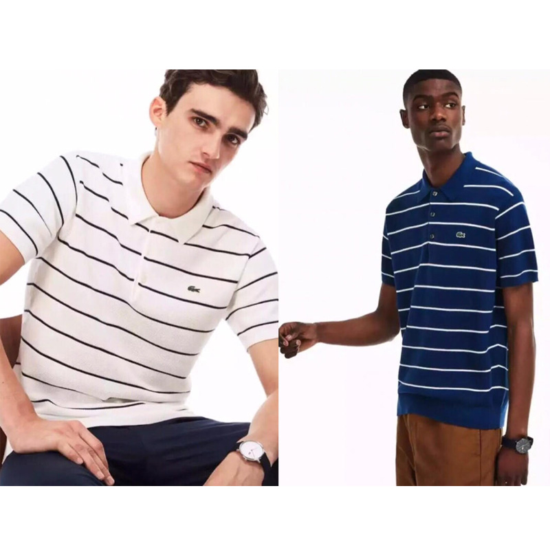 Lacostelegend mens T Shirt classic stripe fitness Short Sleeve Tees outdoor Casual breathable gym t shirt ropa deportiva hombreLacostelegend mens T Shirt classic stripe fitness Short Sleeve Tees outdoor Casual breathable gym t shirt ropa deportiva hombre
