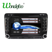 Wondefoo Multimedia Radio 2 DIN Player for VW/Volkswagen/Golf/Polo/Tiguan/Passat/b7/b6/SEAT/leon/Skoda/Octavia Navigation GPS PC(China)