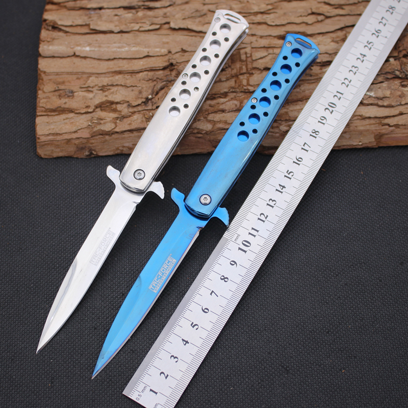 Folding font b Knife b font JIANYU Survival Knifes 440 Steel Blade Steel Handle Pocket font