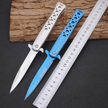 Folding Knife JIANYU Survival Knifes 440 Steel Blade Steel Handle Pocket Hunting Tactical Knives Camping Outdoor EDC Tools y13