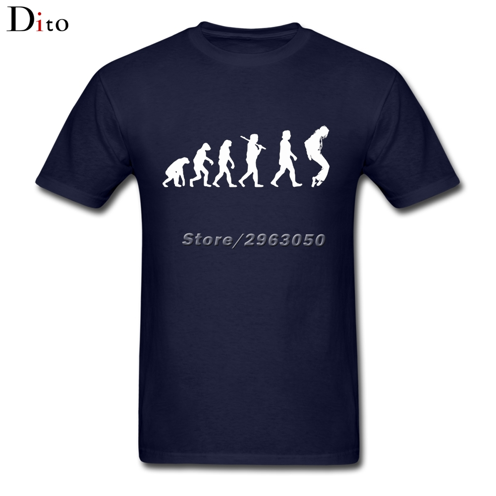 Original Designer Michael Jackson Evolution T Shirt For Men Fashion Short Sleeve Fashion Custom Team King
