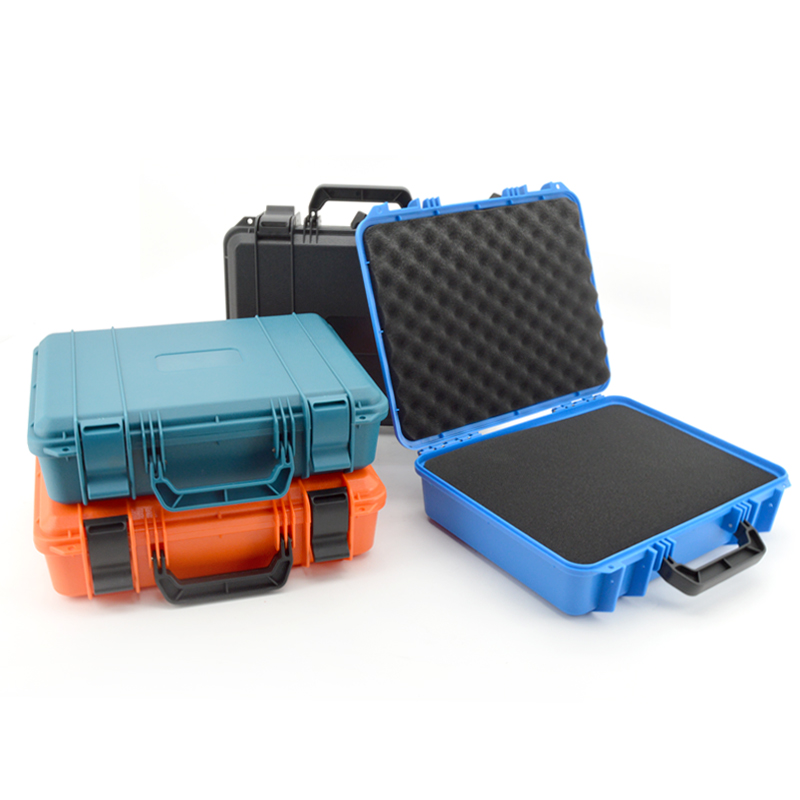 Plastic Storage Toolbox Safety Instrument Tool Box Protection Equipment Instrument Case Dry Box Impact Resistant Outdoor Box