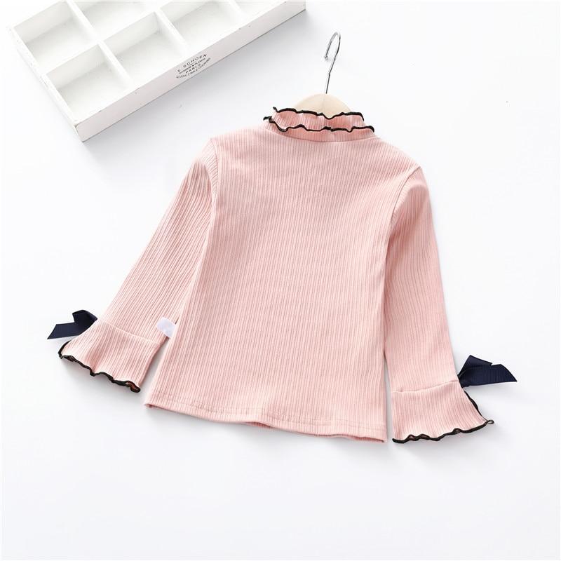 Baby Mädchen Tops Print Sweatshirt New Frühling Herbst Mädchen T-shirts Kinder Langarm Mode Tops Kinder Kleidung Elegant Im Geruch