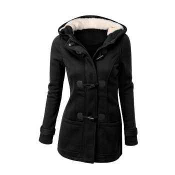 Women Basic Autumn Winter Coat Plus Size