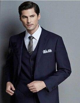 Itlay Men Suits Tuxedos Groomsmen Suits For Wedding Formal Occasion Elegant Men Suits Blazer With Pants (Jacket+Pants+Vest+Tie)
