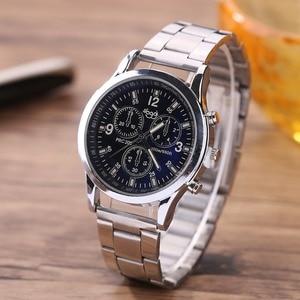 2018 Price drop hot selling luxury stainless steel watch women men wristwatches fashion three eyes quartz watch men business wat